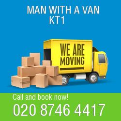 KT1 2 men and van Kingston