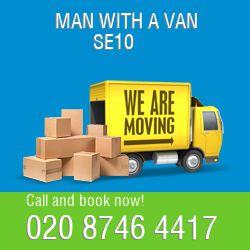 SE10 2 men and van Greenwich