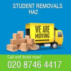 cheap student removals Harrow