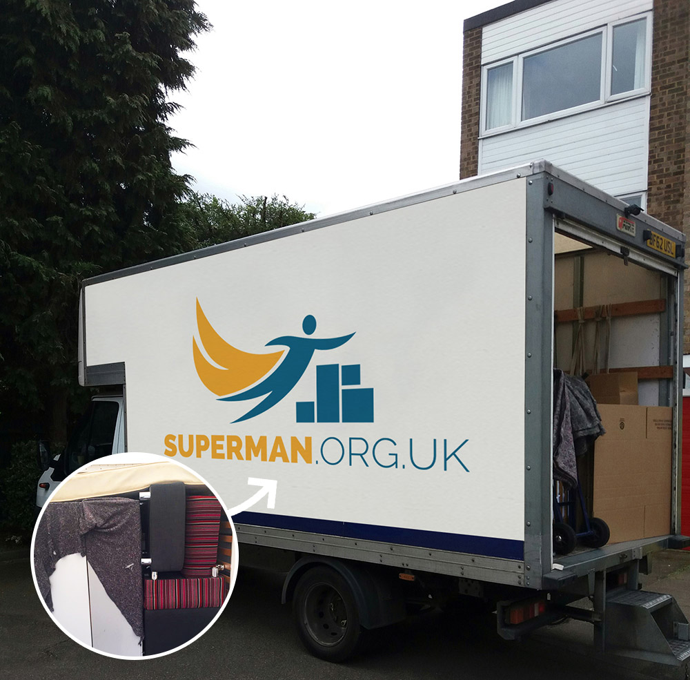 Van Hire at Superman