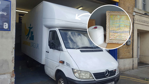 men with a van Camden Town