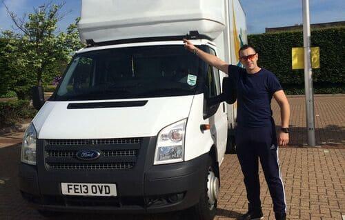 Clapham removal van costs