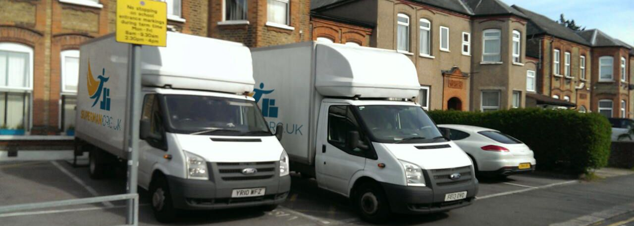 Colliers Wood removal van costs