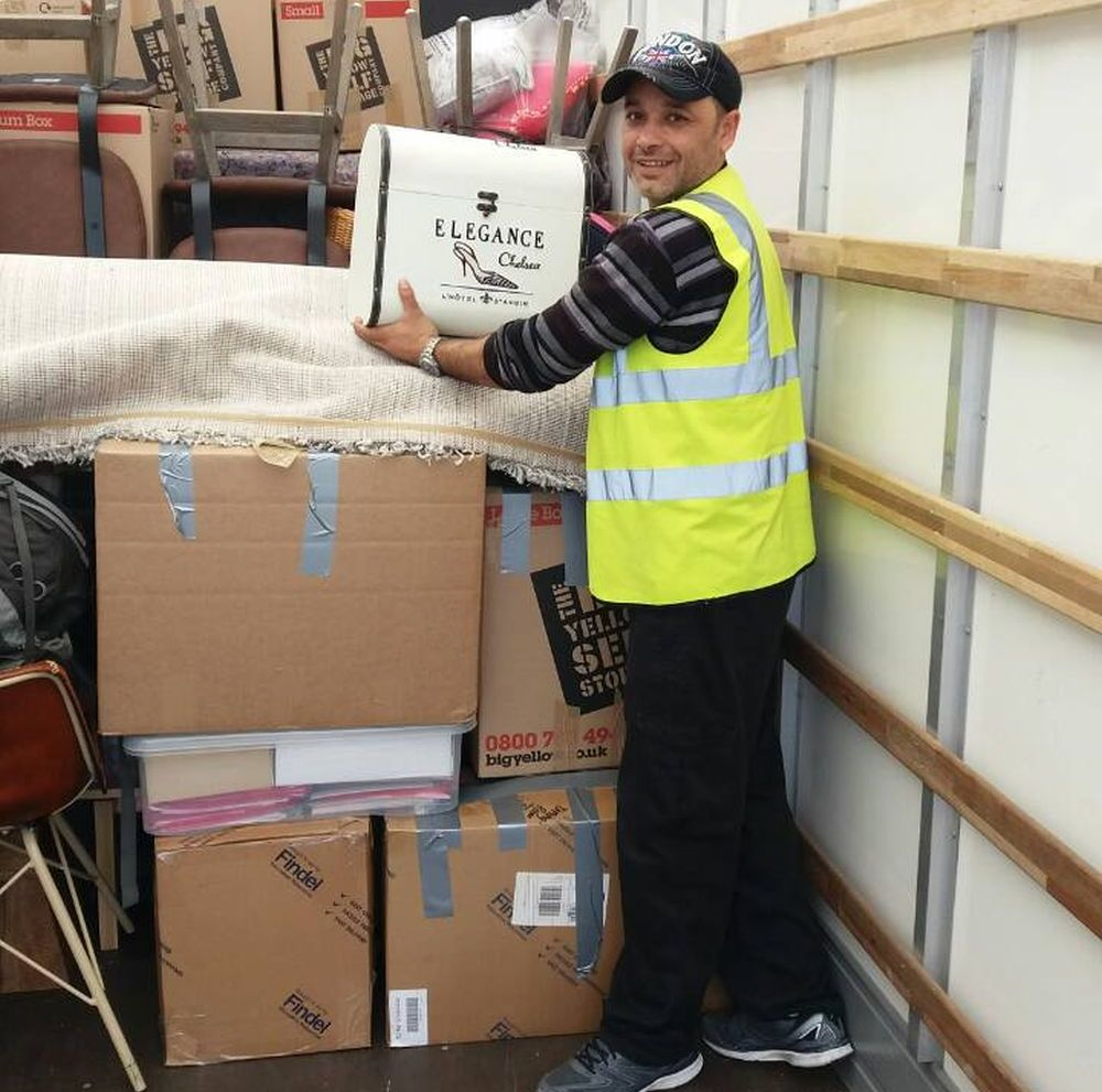 office movers Hackney