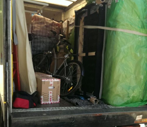Keston removal van costs