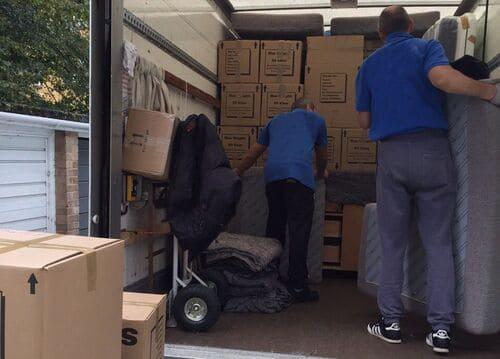 house movers Mayfair