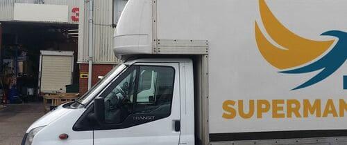 small van and man Shoreditch